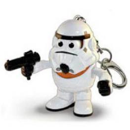 Llavero Potato Poptaters Star Wars Stormtrooper