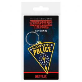 Llavero Rubber Hawkins Police Stranger Things