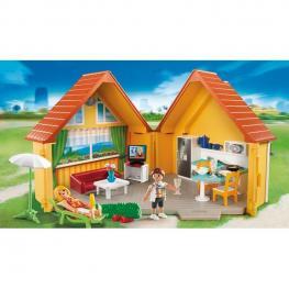 Maletin Casa de Campo Playmobil Summer Fun