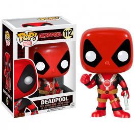 Figura Pop Marvel Deadpool Thum Up