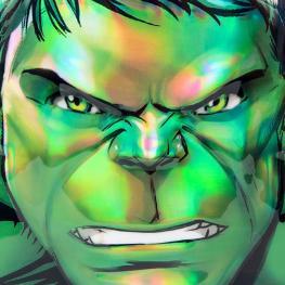 Mochila 3D Hulk Vengadores Avengers Marvel 31Cm