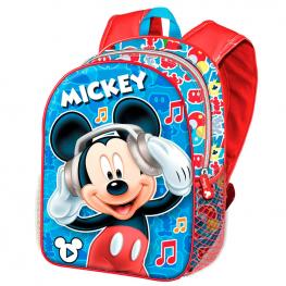 Mochila 3D Mickey Music Disney 31Cm