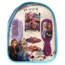 Mochila Accesorios Cabello Frozen 2 Disney 12Pzs