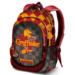Mochila Harry Potter Quidditch Gryffindor 44Cm