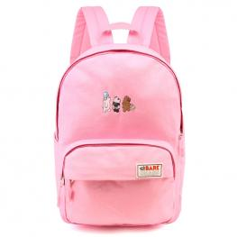 Mochila We Bare Bears Rosa 38Cm