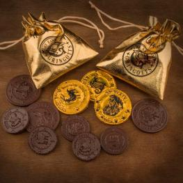 Molde Chocolate Gringotts Bank Coin Harry Potter