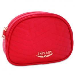 Neceser Chic & Love Red Pequeño Swarovski