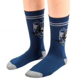 Pack 3 Calcetines Ravenclaw Harry Potter
