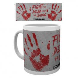 Taza The Walking Dead Hand Prints