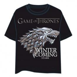 Camiseta Juego de Tronos Stark Adulto