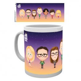 Taza The Big Bang Theory Characters