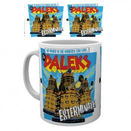 Taza Doctor Who Daleks