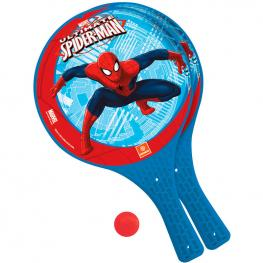 Palas + Pelota Spiderman Marvel