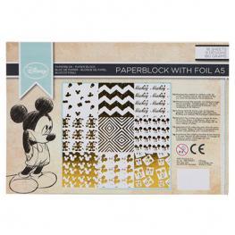 Papel Aluminio A5 Mickey Disney