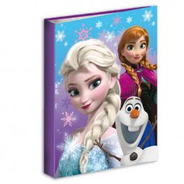 Carpeta Frozen Disney Snow Dots A4 Anillas