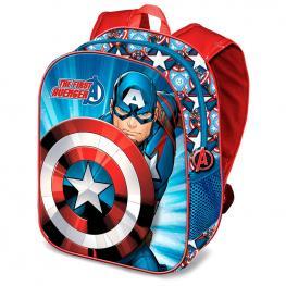 Mochila 3D Capitan America Marvel 31Cm