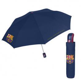 Paraguas Plegable Automatico Antiviento Fc Barcelona 54Cm