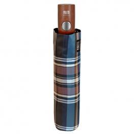 Paraguas Plegable Automatico Diseño Escoces Antiviento Surtido 58Cm
