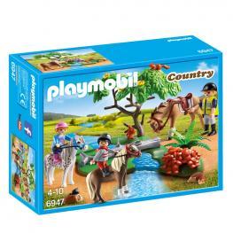 Paseo de Ponis En el Campo Playmobil Country