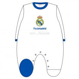 Pelele 100% Madridista Real Madrid Azul