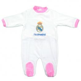 Pelele 100% Madridista Real Madrid Rosa