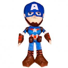 Peluche Action Capitan America Marvel 56Cm