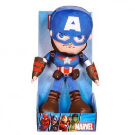 Peluche Action Capitan America Vengadores Avengers Marvel 25Cm
