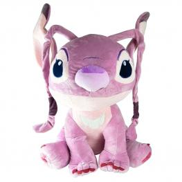Peluche Angel Stitch Disney Soft 55Cm