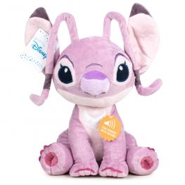 Peluche Angel Stitch Disney Soft Sonido 20Cm