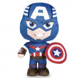 Peluche Capitan America Marvel 20Cm