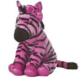 Peluche Cebra Rosa Destination Nation 32Cm