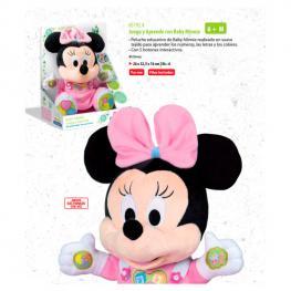 Peluche Educativo Baby Minnie Disney