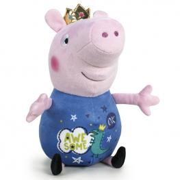 Peluche George Peppa Pig Its Magic Corona 72Cm