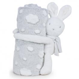 Peluche Manta Little Bunny Baby Soft 26Cm