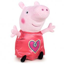 Peluche Peppa Peppa Pig Corazon 42Cm