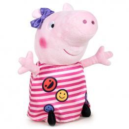 Peluche Peppa Peppa Pig Rayas 42Cm