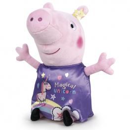 Peluche Peppa Pig Its Magic Violeta 45Cm