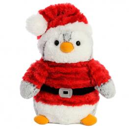 Peluche Pinguino Pompon Santa Soft 23Cm