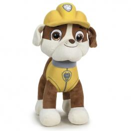 Peluche Rubble Crystal Eyes Canina Paw Patrol 25Cm