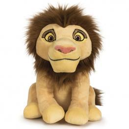 Peluche Simba Adulto el Rey Leon Disney Soft 25Cm