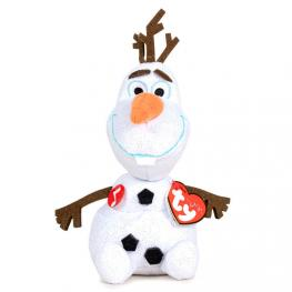 Peluche Ty Olaf Frozen Disney Con Sonido 16Cm