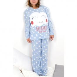 Pijama Clouds Polar Juvenil