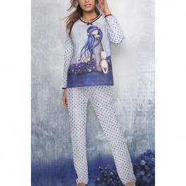 Pijama Gorjuss Dear Alice Adulto