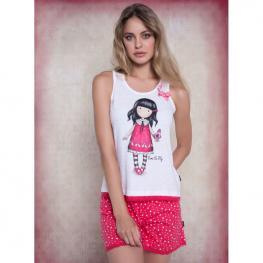 Pijama Gorjuss Time To Fly Sin Mangas Adulto