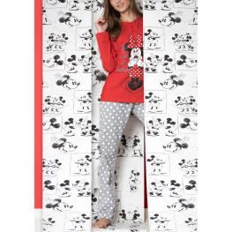 Pijama Minnie Spots Disney Adulto