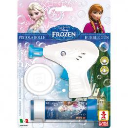 Pistola Burbujas + Pompero Frozen Disney