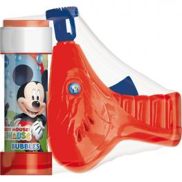 Pistola Burbujas + Pompero Mickey Disney