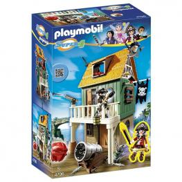 Fuerte Pirata Camuflado Ruby Playmobil Super 4