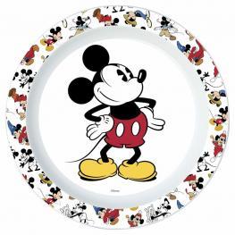 Plato Mickey 90 Years Disney Microondas
