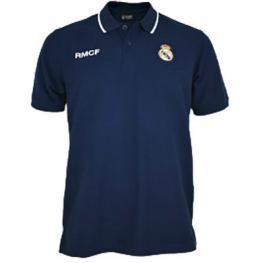 Polo Real Madrid Negro Junior